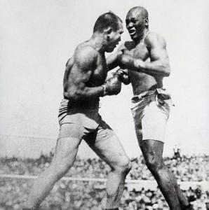 Jack Johnson & Jim Jeffries Boxing