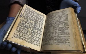 Shakespeare Robben Island Bible