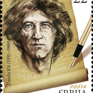 Danilo_Kis_Serbian_Literature_Great_Men_Stamps