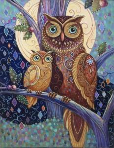 Pntg Owl