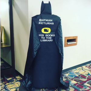 Batman-Returns-Library-Display-at-Alverno-College-Library