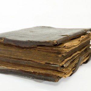 very old prayer-book