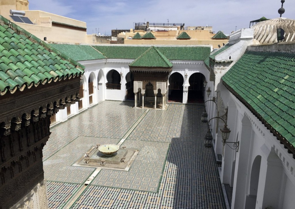 the-al-qarawiyyin-university-library-and-mosque-were-founded-by-fatima-el-fihriya-in-859--around-the-time-early-forms-of-algebra-were-being-invented