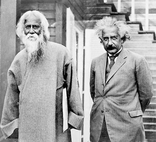 Рабиндранат и Айнщайн