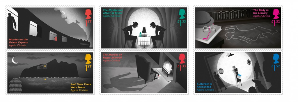 Agatha Christie 400% Stamps.indd