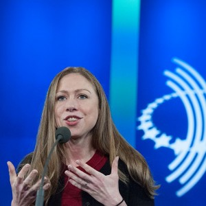NEW YORK, NY - SEPTEMBER 21:  Chelsea Clinton delivers a speech during the annual Clinton Global Initiative on September 21, 2016 in New York City. Former President Bill Clinton defended the foundation, founded in 2005, at the final CGI meeting. (Photo by Stephanie Keith/Getty Images)
