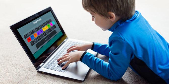 ил.2.деца пишат