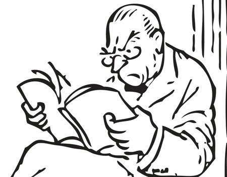 ил.2.разочарован читател