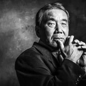Der Schriftsteller Haruki Murakami am 07.11.2014 in Berlin.
