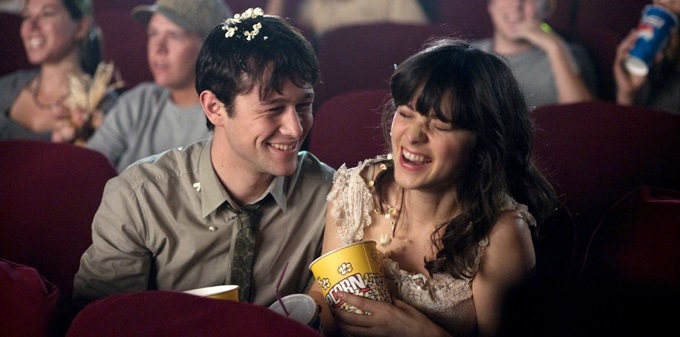 (500) DAYS OF SUMMER, (aka 500 DAYS OF SUMMER), from left: Joseph Gordon-Levitt, Zooey Deschanel, 2009. TM & copyright ©Fox Searchlight. All rights reserved/courtesy Everett Collection fotograma 249/ cordon press