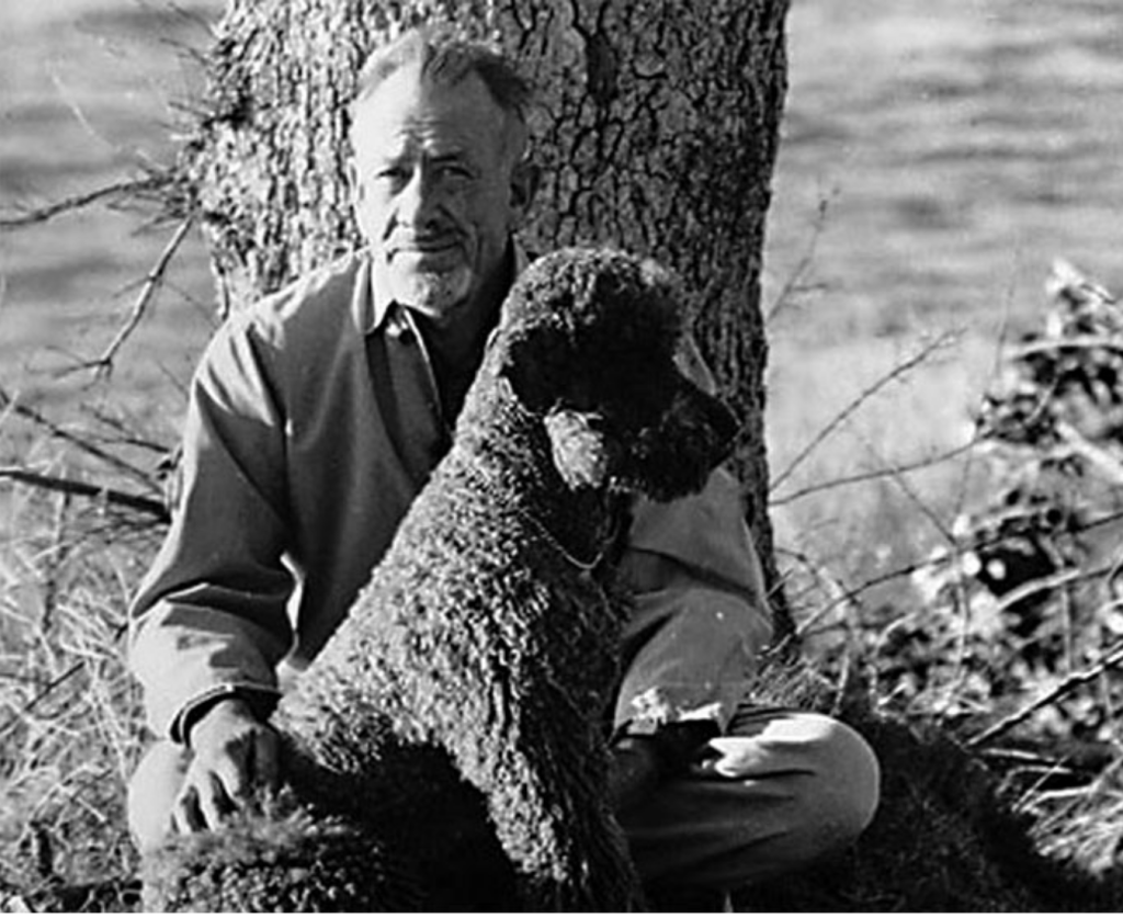 John-Steinbeck-with-Charlie
