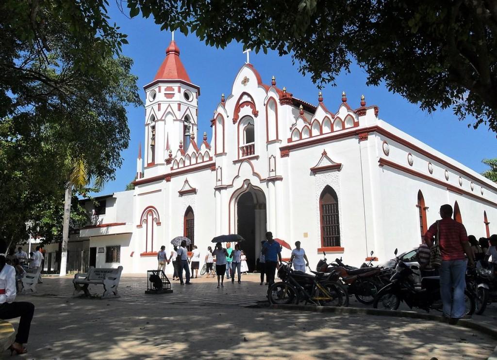 Край тази църква в Аракатака е израснал писателят