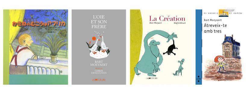 Книги от Барт Моярт на различни езици