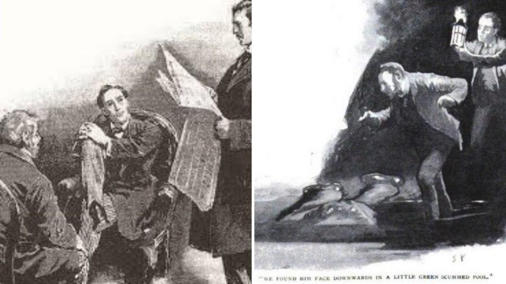 Илюстрации от оригиналното издание от 1892 г.