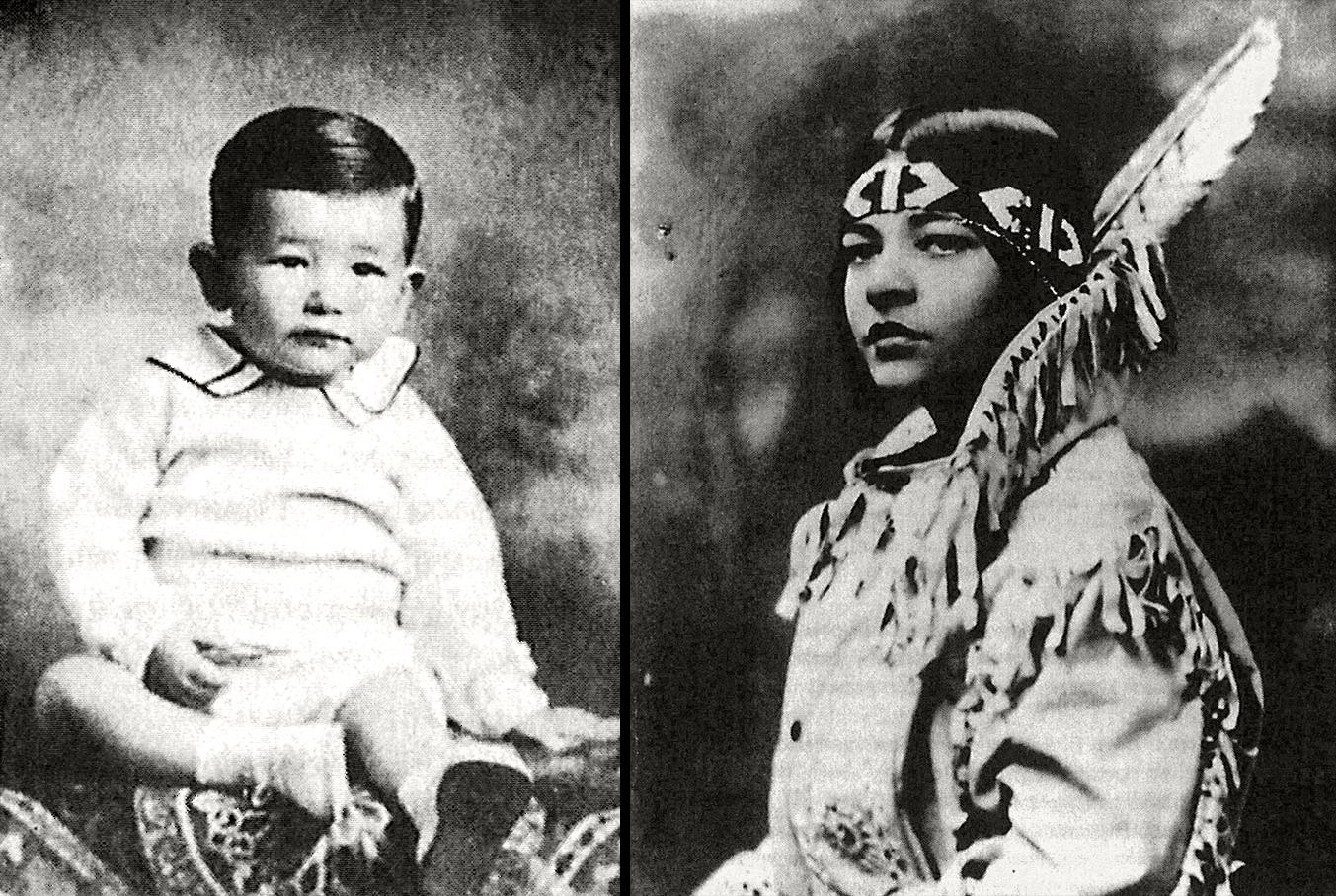 Писателят в най-ранна възраст и като юноша