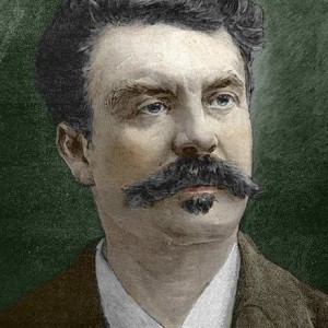 Guy de Maupassant (1850-1893), Žcrivain franais. ©Bianchetti/Leemage