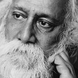 This is an undated photo of Sir Rabindranath Tagore, Hindu poet, writer and philosopher, in Calcutta, India.  Tagore was born in Calcutta in 1861 and was the first Asian to receive the Nobel Prize in literature in 1913.  He was knighted in 1915, but denounced the honor in 1919 to protest against British policy in Punjab.  He died on Aug. 7, 1941.  (AP Photo) ORG XMIT: APHS103