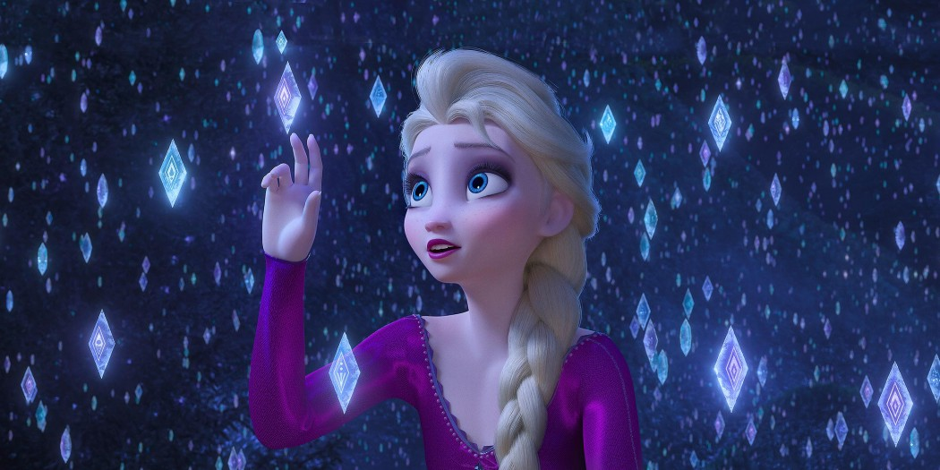 Elsa in Frozen 2  Credit: Disney