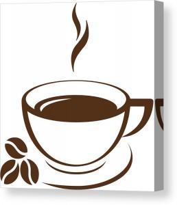 cofee-cup-glam-y-canvas-print