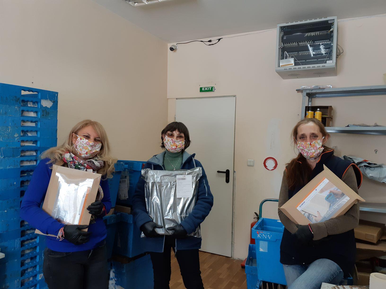 Калина, Ирина, Силвия1