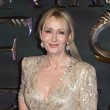 epa05632893 British novelist, screenwriter and film producer, J.K. Rowling attends the European Premiere of 'Fantastic Beasts and Where Tto Find Them' at Leicester Square in London, Britain, 15 November 2016. The movie opens in British cinemas on 18 November.  EPA/HAYOUNG JEON