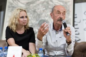 Димитър Шумналиев с Катерина Хапсали