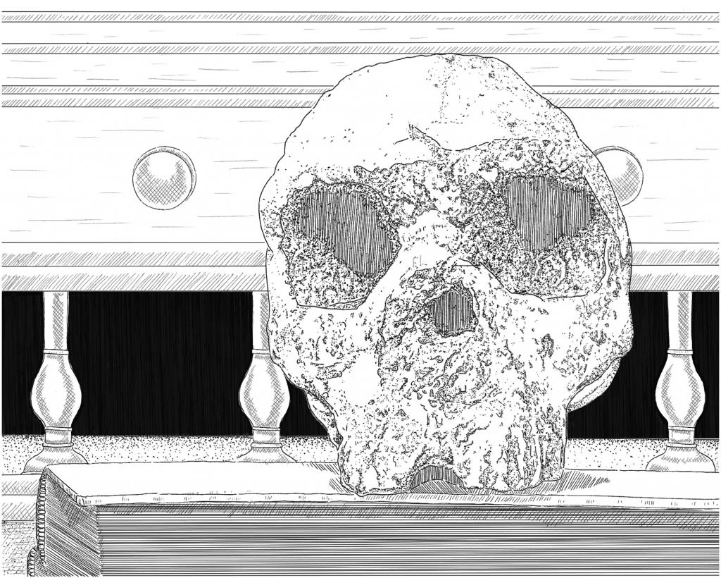 Родственици_Първият череп